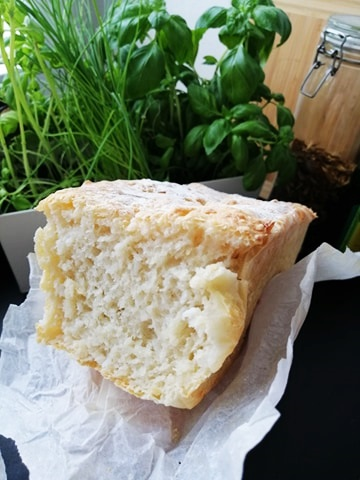 Chleb pszenny z ryżem