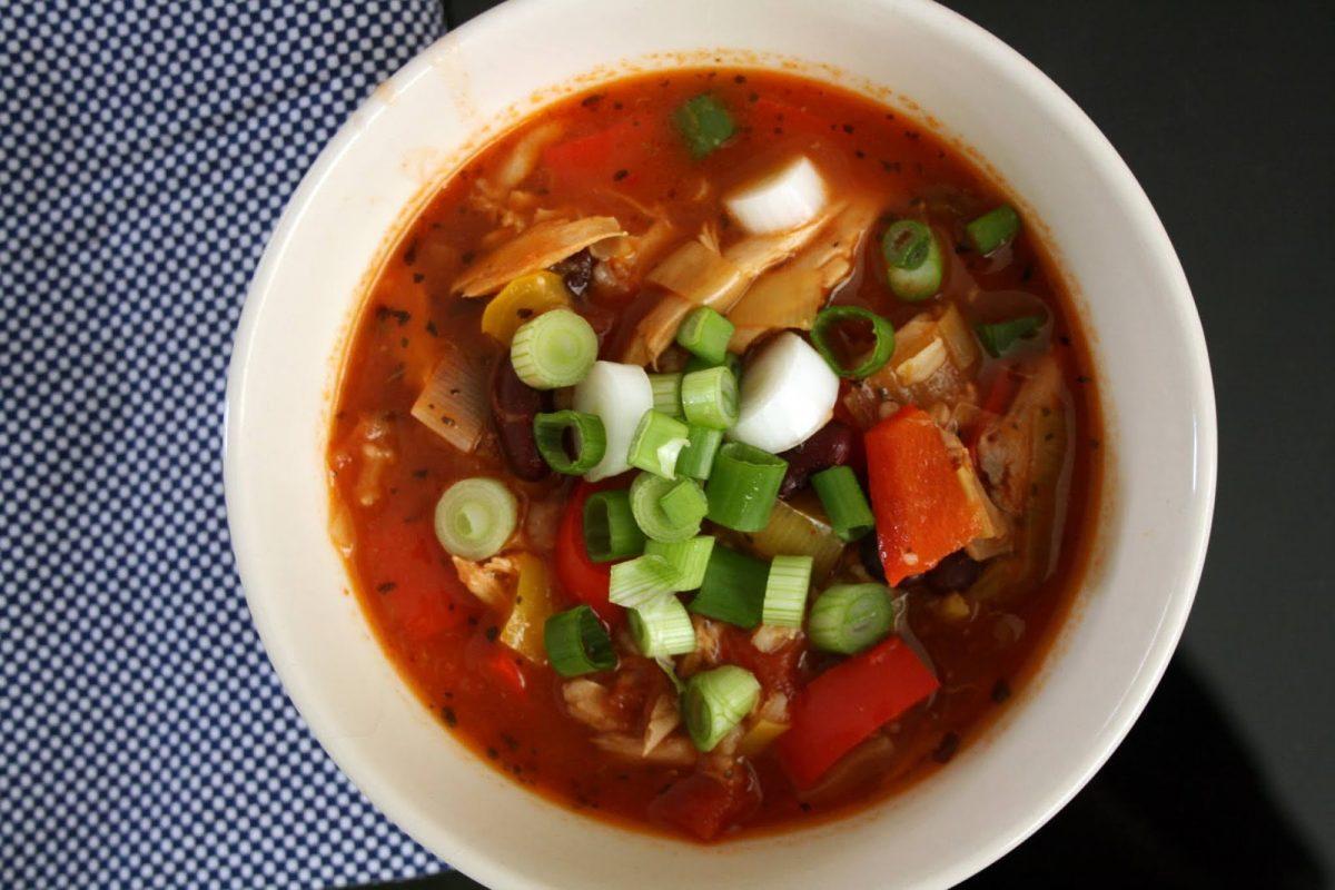 Pikantna zupa z kurczakiem